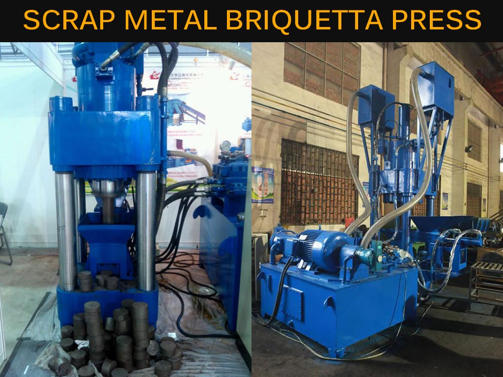 Scrap Metal Briquette Press
