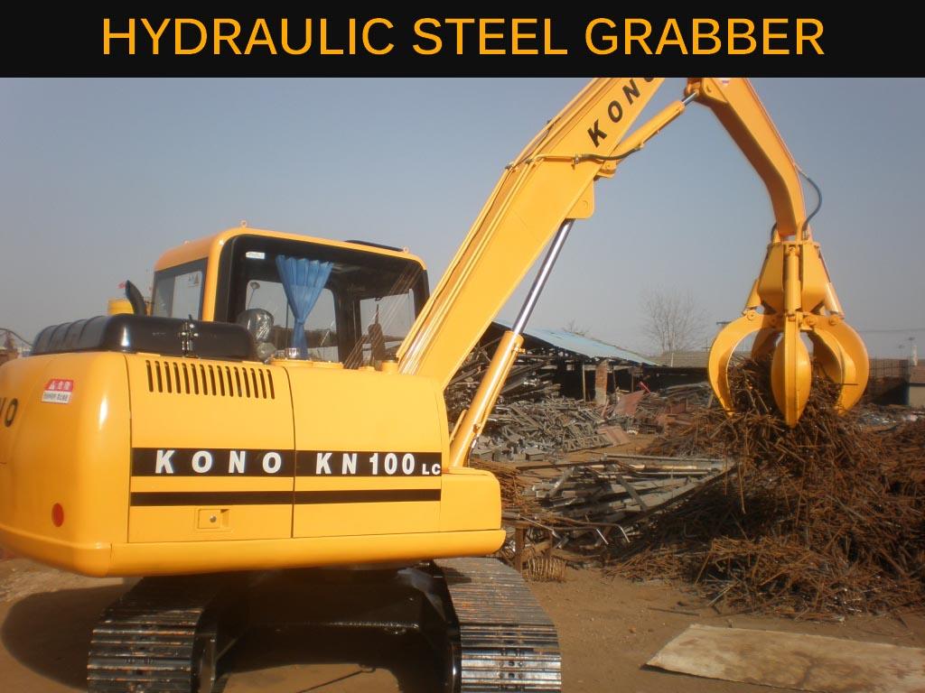 Hydraulic Steel Grabber