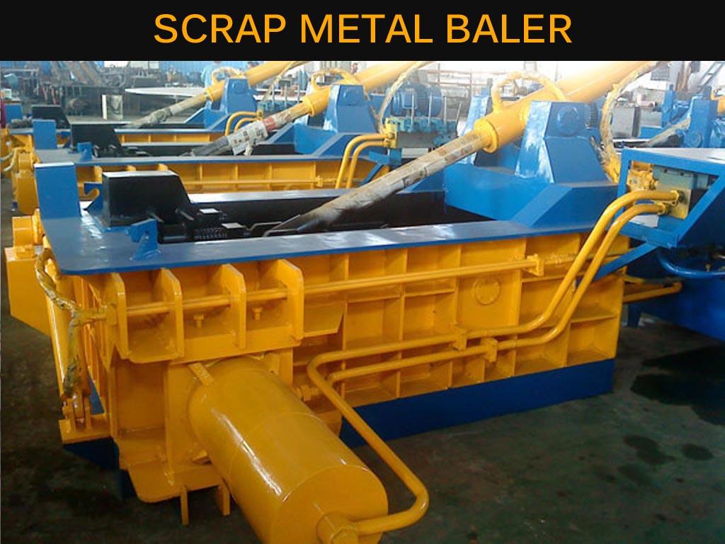 SA Scrap Metal Baler