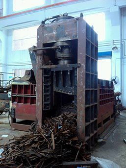 Scrap Metal Shear Baler