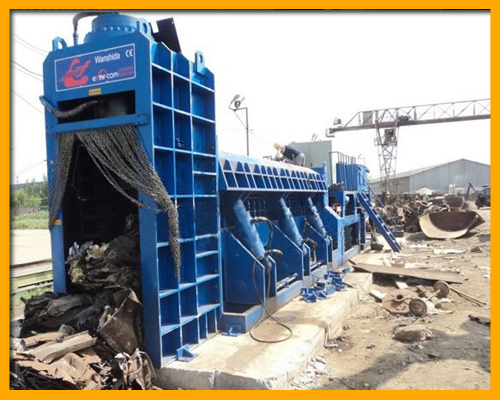WSD-4000C Scrap Metal Shear Baler