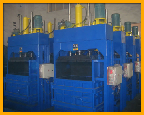 Vertical Waste Baler