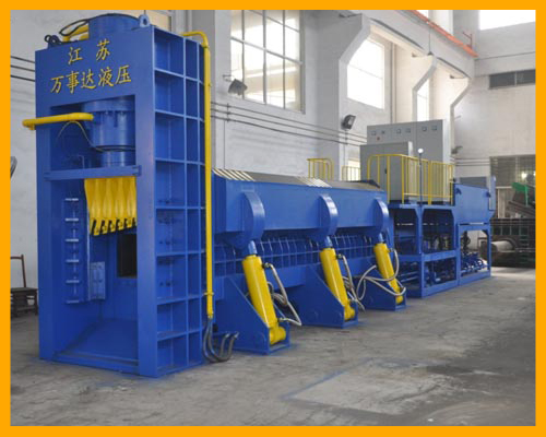 WSD-6300 Scrap Metal Shear Baler