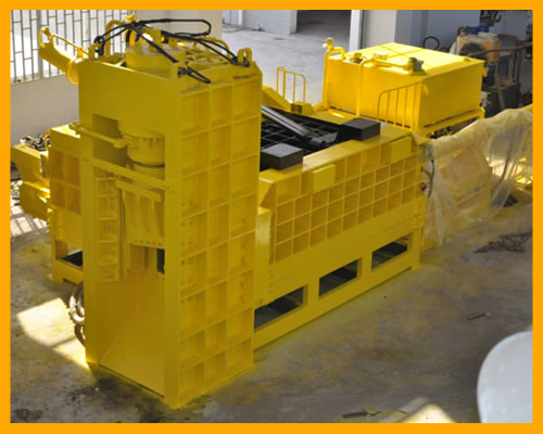WSD-4000G2 Scrap Metal Shear Baler